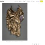 breastplate, kim richardson photo, debra baxter sculpture